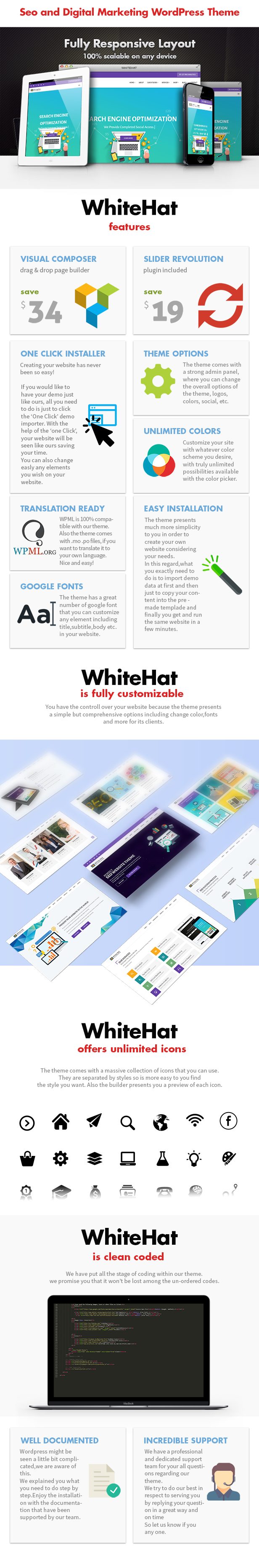 WhiteHat - Digitales Marketing-Thema - 3