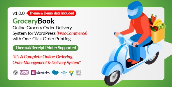 Wordpress Add-On Plugin GroceryBook Multidelivery Fees Add-on