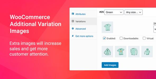 Wordpress E-Commerce Plugin Aloz - Additional Variation Images Plugin for WooCommerce