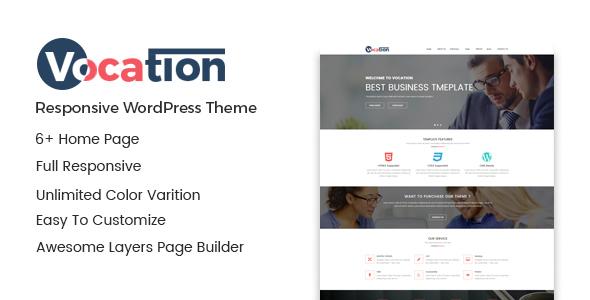 Wordpress Immobilien Template Vocation – Corporate WordPress Theme