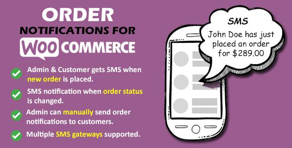 Wordpress E-Commerce Plugin Order Notifications for WooCommerce