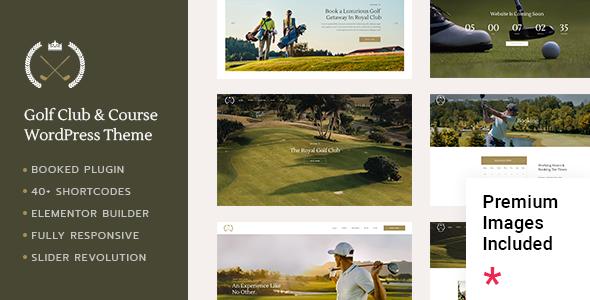 Wordpress Entertainment Template FairwayGreen - Golf Club
