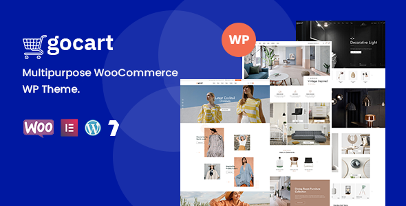 Wordpress Shop Template Gocart  - Multipurpose WooCommerce WordPress Theme