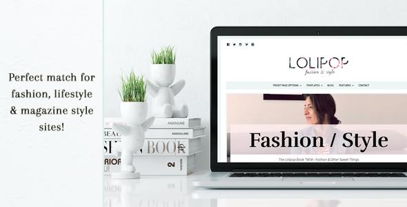 Wordpress Blog Template Lolipop - Fashion WordPress Theme