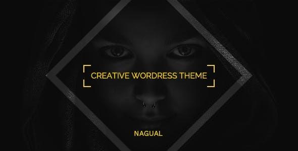 Wordpress Kreativ Template Nagual - Unique Personal/Agency Portfolio WordPress Theme
