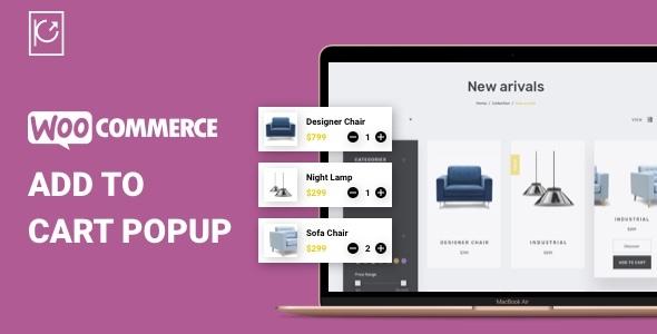 Wordpress E-Commerce Plugin PS WooCommerce Added to Cart Popup