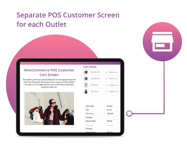WooCommerce POS-Kunden-Warenkorb-Bildschirm - 5
