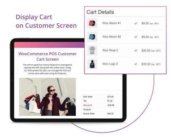 WooCommerce POS-Kunden-Warenkorb-Bildschirm - 7