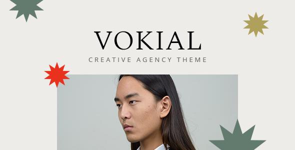 Wordpress Kreativ Template Vokial - Creative Agency Theme