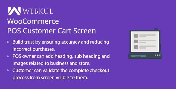 Wordpress E-Commerce Plugin WooCommerce POS Customer Cart Screen
