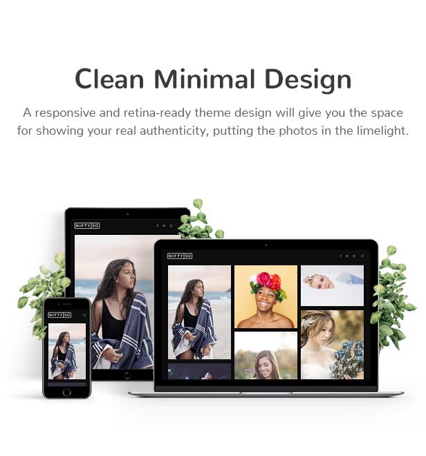 Nifty Fifty Fotografie WordPress Theme - 2