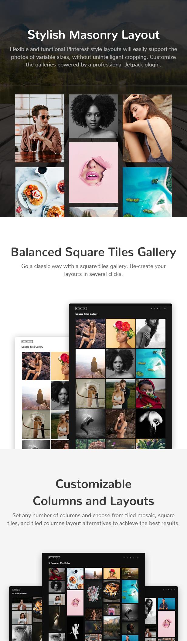 Nifty Fifty Fotografie WordPress Theme - 4