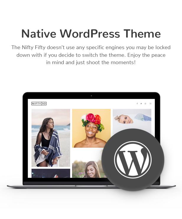 Nifty Fifty Fotografie WordPress Theme - 9