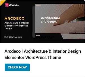 Arcdeco WordPress-Theme