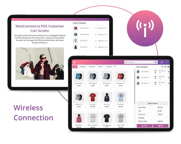WooCommerce POS-Kunden-Warenkorb-Bildschirm - 8