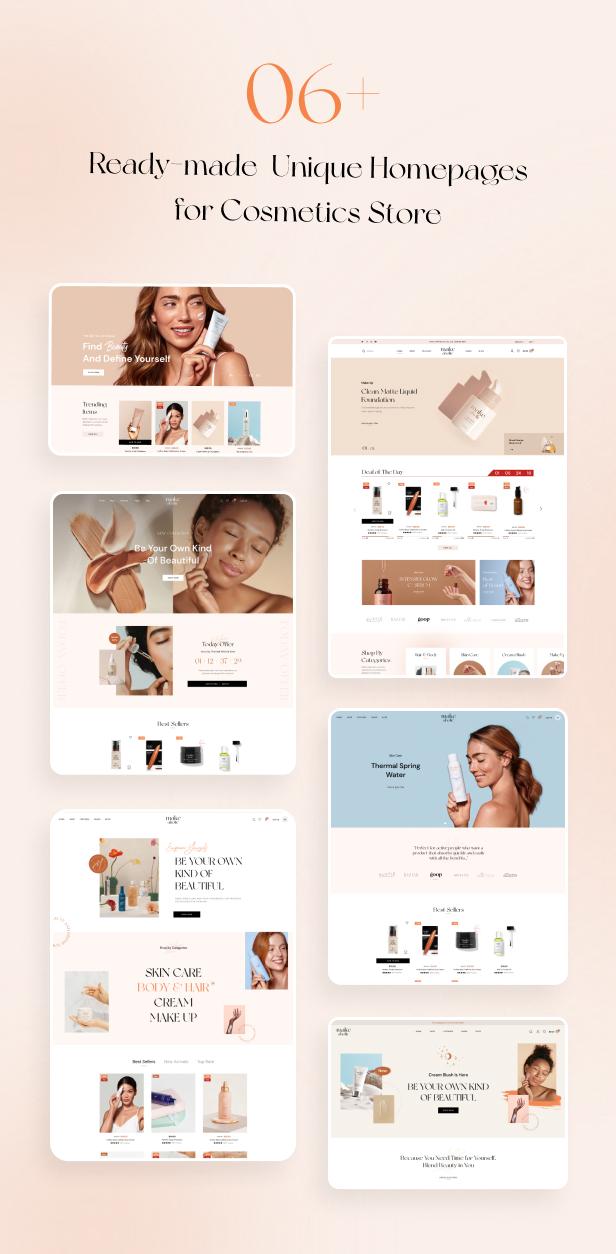 Makeaholic - Beauty Cosmetics WordPress Theme - 2