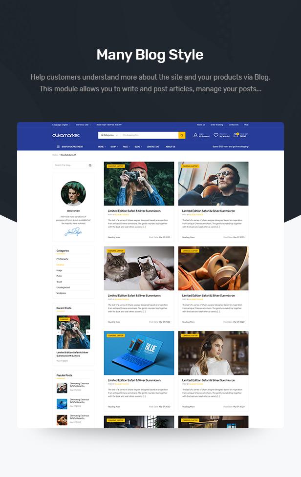 DukaMarket - Mehrzweck-WordPress-Theme - 10