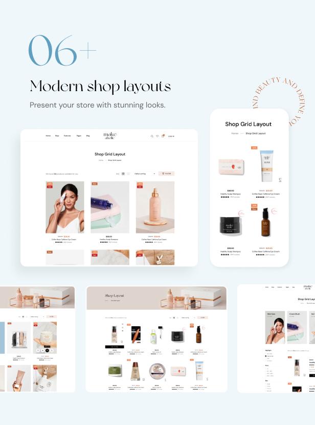 Makeaholic - Beauty Cosmetics WordPress Theme - 3