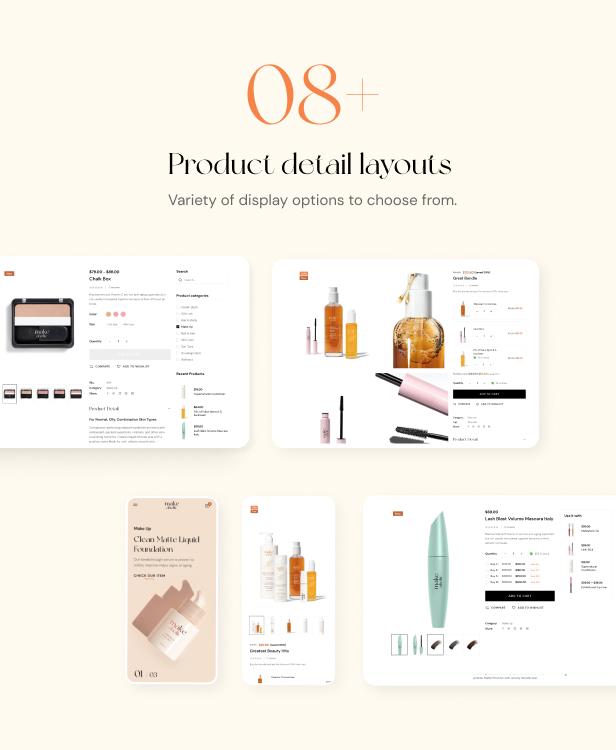 Makeaholic - Beauty Cosmetics WordPress Theme - 4