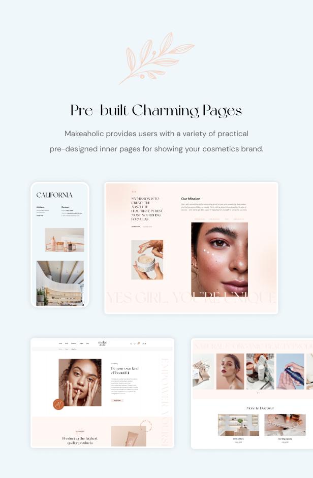 Makeaholic - Beauty Cosmetics WordPress Theme - 7