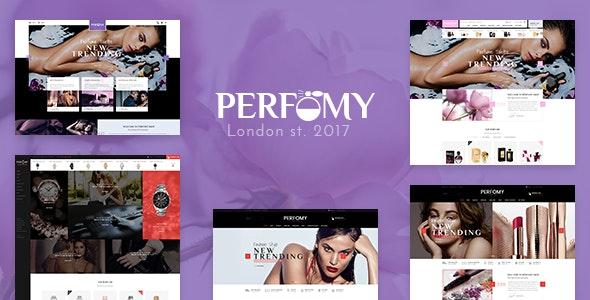 Perfomy - Parfüm & Schmuck WooCommerce WordPress Theme - WooCommerce eCommerce