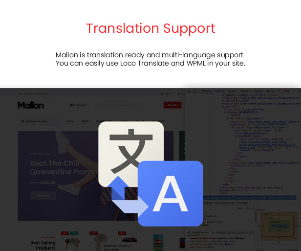 Mallon - Medical Store Elementor WooCommerce WordPress Theme - SEO-Optimierung