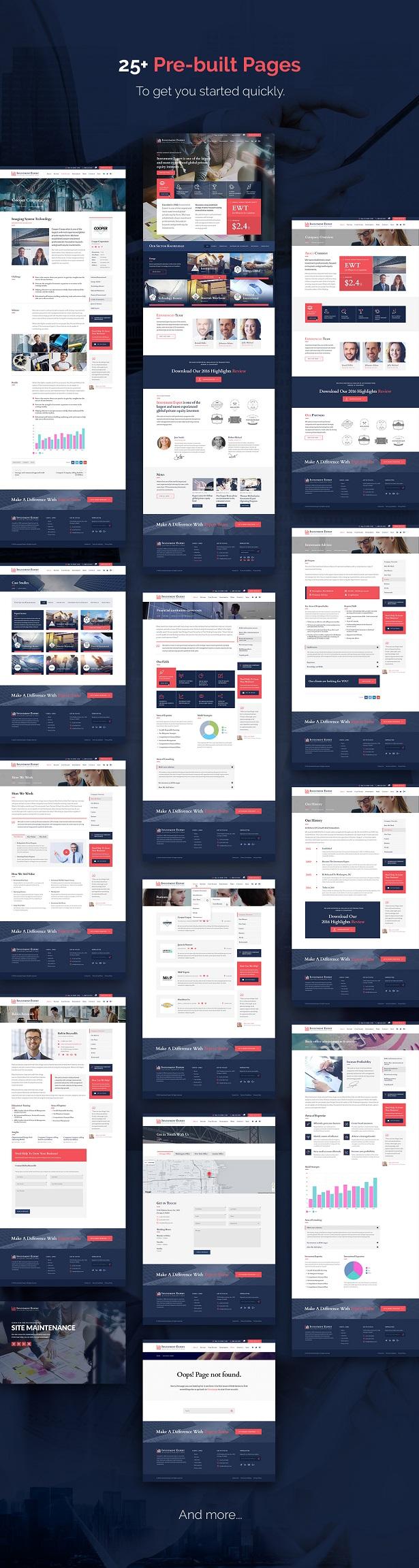 Investment Expert - Business Theme für Agenturen in der Finanzberatung + RTL - 3