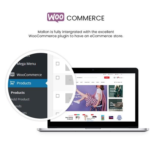 Mallon - Medical Store Elementor WooCommerce WordPress Theme - WooCommerce Integration