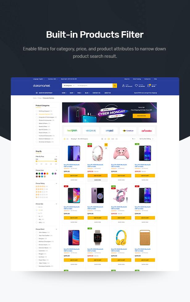 DukaMarket - Mehrzweck-WordPress-Theme - 8