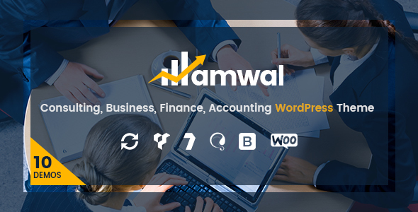 Wordpress Immobilien Template Amwal   Consulting Finance WordPress Theme
