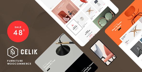 Wordpress Shop Template Celik - Furniture WooCommerce Theme