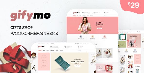 Wordpress Shop Template Gifymo - Giftshop WooCommerce Theme