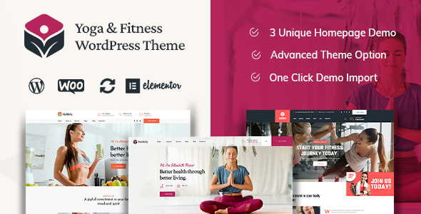 Wordpress Immobilien Template Helthify - Yoga and Fitness WordPress Theme