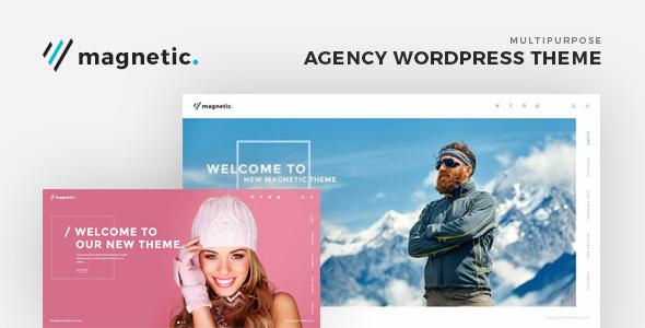 Wordpress Immobilien Template Magnetic - Agency WordPress Theme