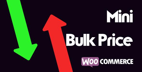 Wordpress E-Commerce Plugin Mini Bulk Price