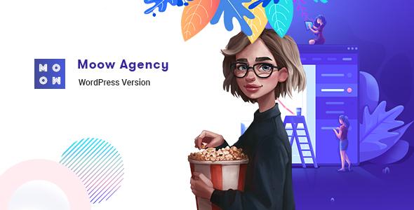 Wordpress Kreativ Template Moow - Agency WordPress Theme