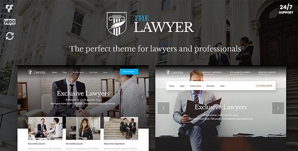 Wordpress Immobilien Template TheLawyer – Attorney & Law Firm WordPress Theme