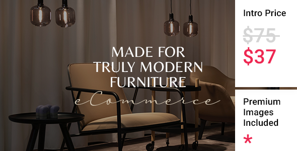 Wordpress Shop Template Töbel - Modern Furniture Store