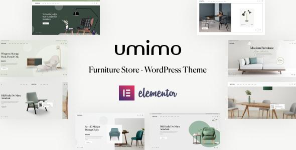 Wordpress Shop Template Umimo - Furniture Store WordPress Theme