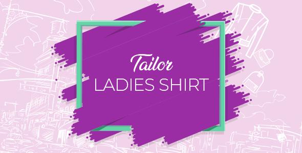 Wordpress E-Commerce Plugin WooCommerce Ladies Shirt Tailor