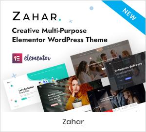 Kreatives Mehrzweckelementor WordPress Theme
