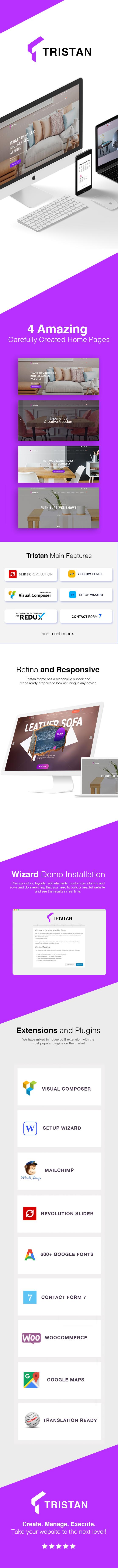 Tristan - Creative Furniture & Interior WordPress Theme - 1
