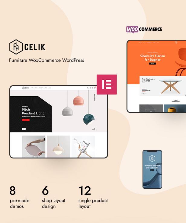 Celik - Möbel WooCommerce Theme - 4