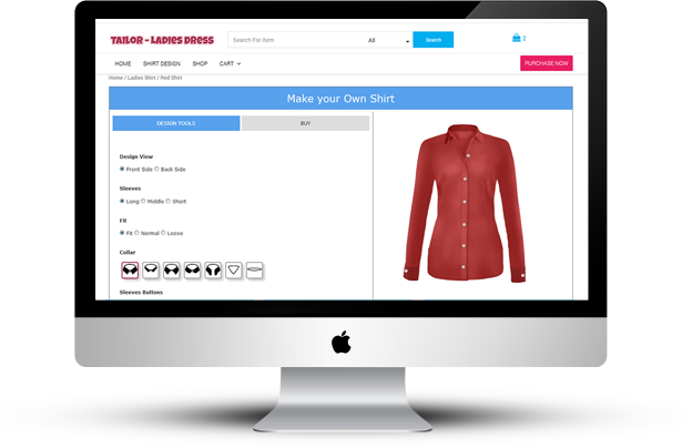 WooCommerce Damen Hemdenschneider - 7