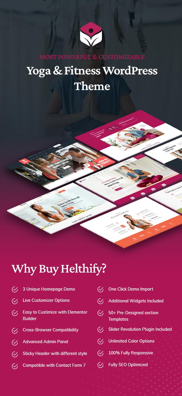 Helthify WordPress-Theme