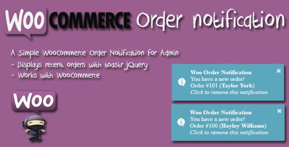 Wordpress E-Commerce Plugin Woo Order Notification (WordPress Plugin)