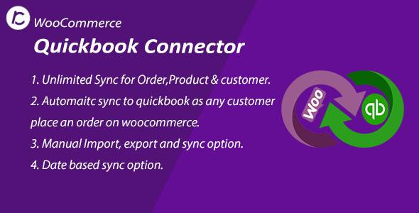 Wordpress E-Commerce Plugin WooCommerce QuickBooks Connector Plugin