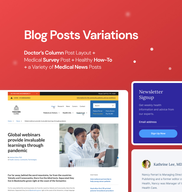 Klinik WordPressTheme