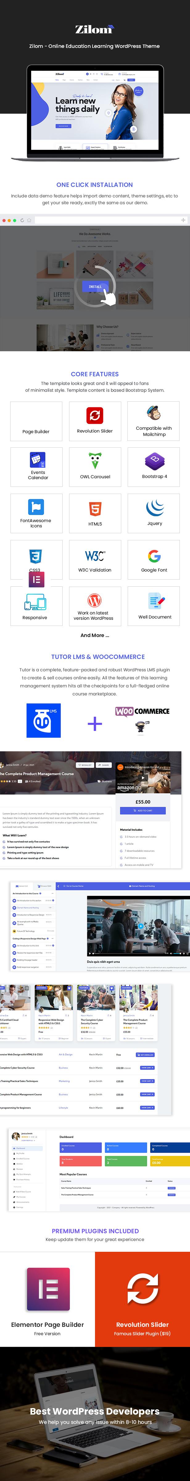 Zilom WordPress-Theme