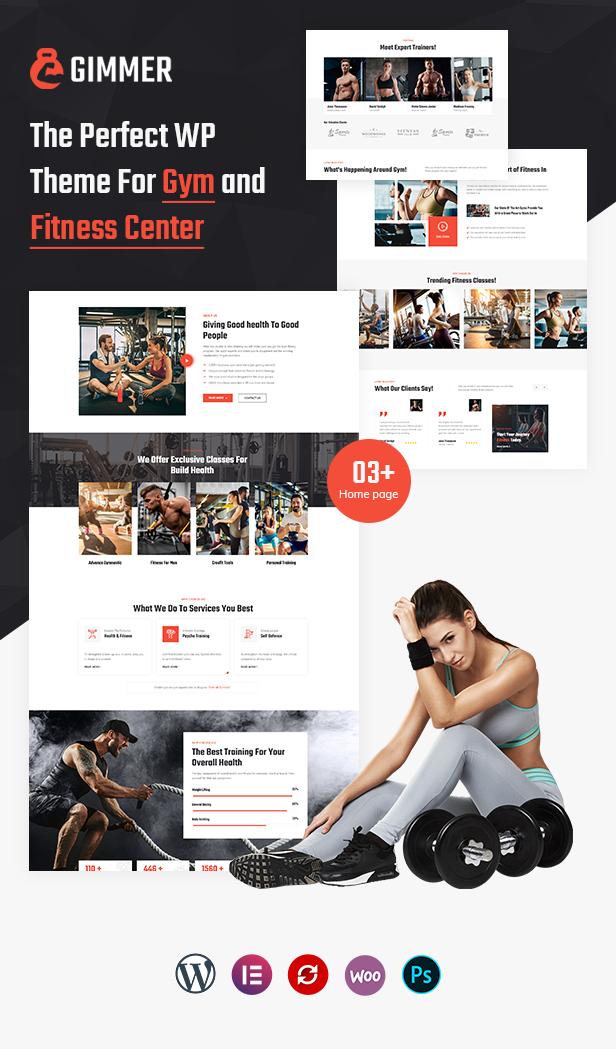 Gesundheit & Fitness WordPress Theme